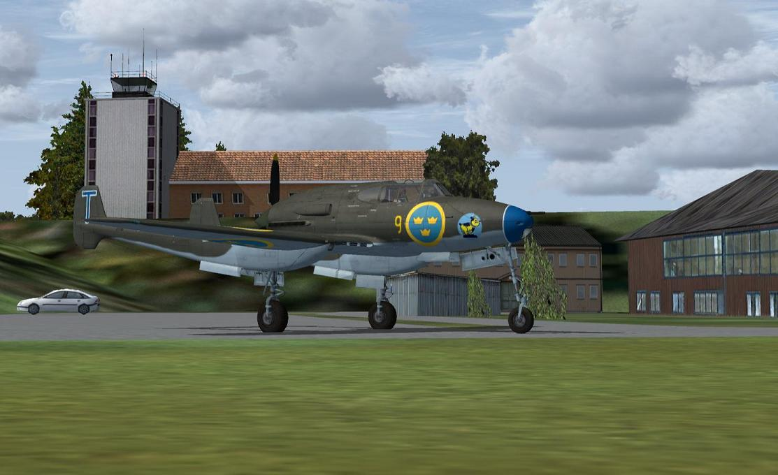 J 21 Saab j-21 swedi...